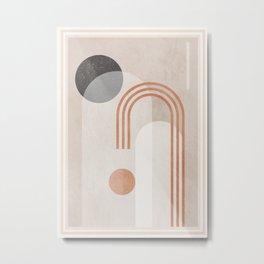 Geometric Abstract 97 Metal Print