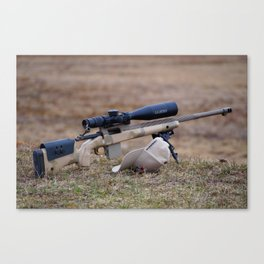 Range Day Canvas Print
