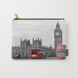 Buses on Westminster Bridge Carry-All Pouch