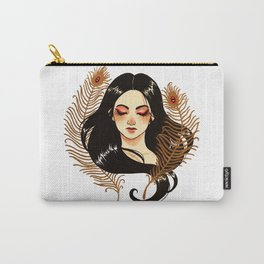 Peacock's feathers Carry-All Pouch