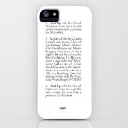 Southwarke Knobbefticke iPhone Case