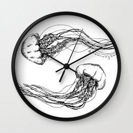 Jellyfish Love Wall Clock