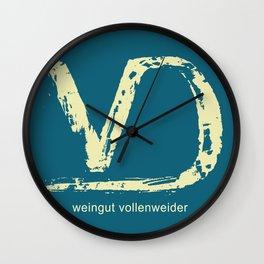 Weingut Vollenweider Wall Clock
