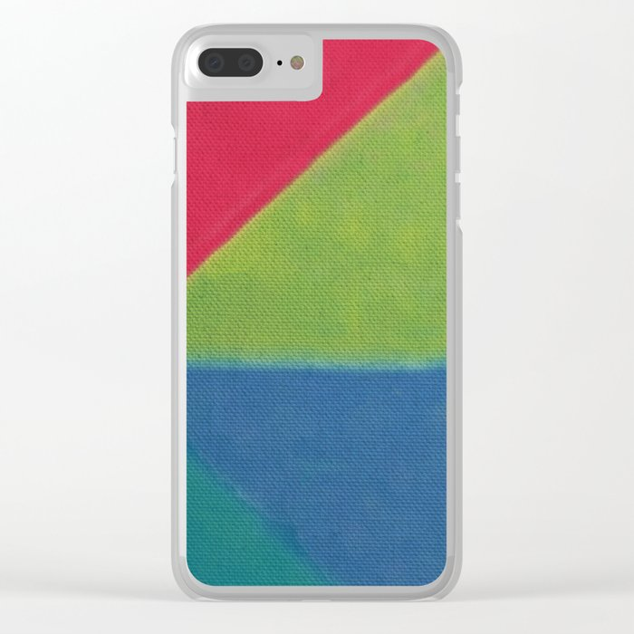 Colors 1 Clear iPhone Case