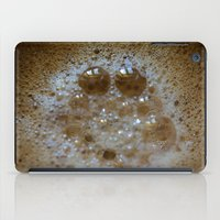 coffe iPad Cases featuring Coffe Time by lenomadecom
