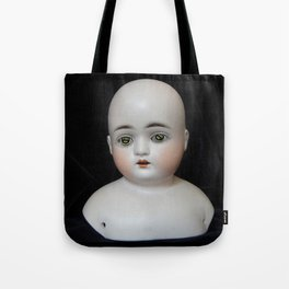 Typewriter Key Creepy Mentalembellisher Doll Tote Bag
