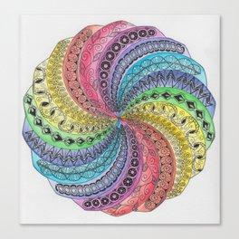 WhirlWind Mandala Canvas Print