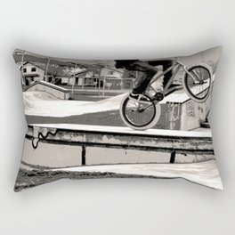Wheelie Master  - BMX Biker Rectangular Pillow