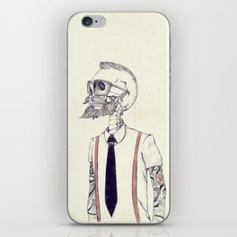 The Gentleman becomes a Hipster  iPhone Skin