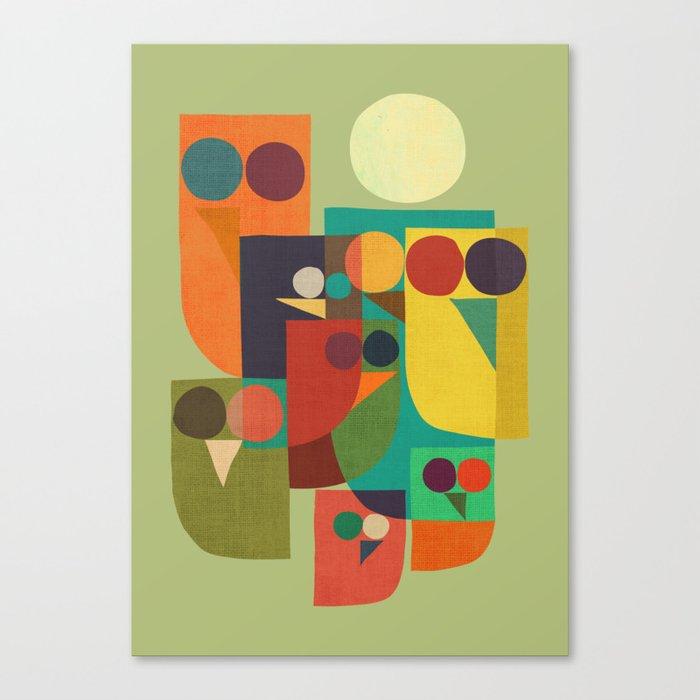 Owl squad Canvas Print