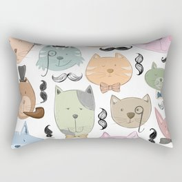 Aristocats Pattern Rectangular Pillow