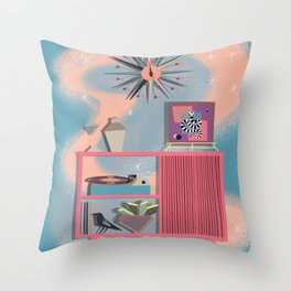 A Night In Throw Pillow