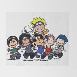 Naruto Gang Throw Blanket