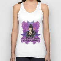 ouat Tank Tops featuring OUAT - Something Evil This Way Comes by Daniel Bevis