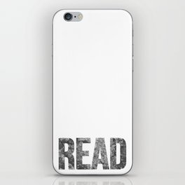Read Dictionary Page Black iPhone Skin