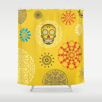 tequila Shower Curtains featuring Tequila Time :) by Imog3n