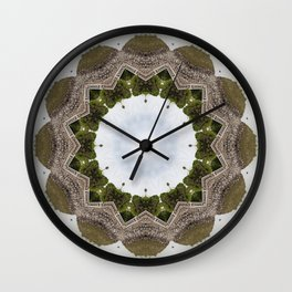 The Iris to my Mind Wall Clock