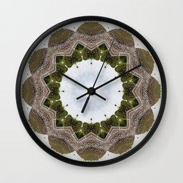 The Iris to my Mind Wall Clock