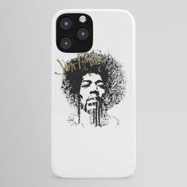 Jimi Hendrix / ink iPhone Case