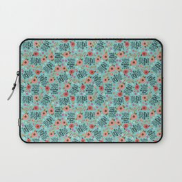 Pretty Sweary: She was too Fucking Tired Laptop Sleeve