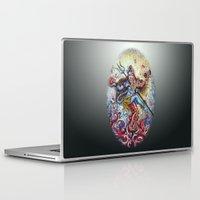 shiva Laptop & iPad Skins featuring Shiva Shakti by Harsh Malik