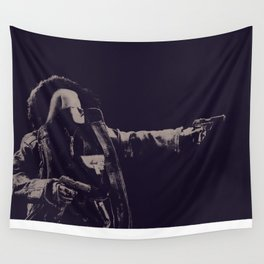 The Shoot Out Wall Tapestry