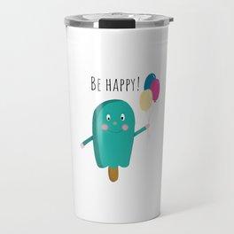 Happy icecream Travel Mug
