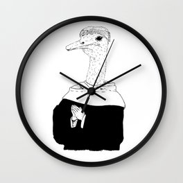 The Ostrich Wall Clock