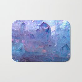 Purple Quartz Crystal Bath Mat