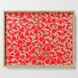 Strawberry Summer Serving Tray