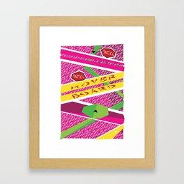 Hover board Framed Art Print