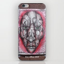 The Face of Man II  iPhone Skin