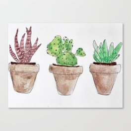 Plants are friends Canvas Print