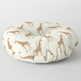 Giraffe animal minimal modern pattern basic home dorm decor nursery safari patterns Floor Pillow