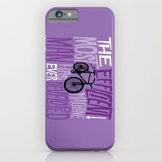 The Most Efficient Machine iPhone & iPod Case
