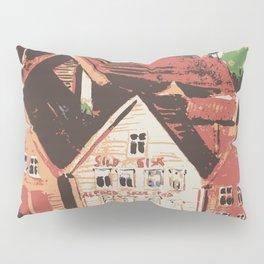 Old warf of Bergen Norway Pillow Sham