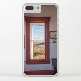 Hurd Round House, Wells County, North Dakota 30 Clear iPhone Case