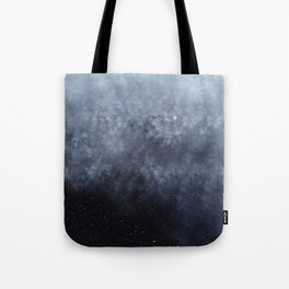 Blue veiled moon Tote Bag