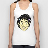 budi satria kwan Tank Tops featuring Photogenic: Ren Kwan (color) by Gin and Cats
