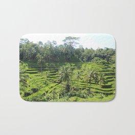 Ubud Rice Fields Bath Mat
