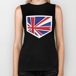 Montgomery Brits Logo Biker Tank