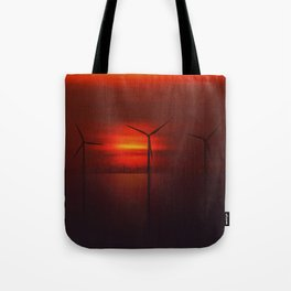 Windmills in the Sun Tote Bag