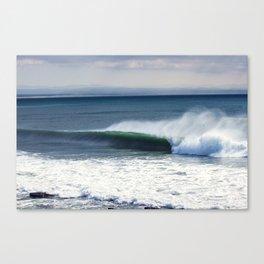 Jeffreys Bay wave at Super Tubes Canvas Print