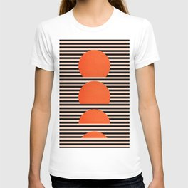 Abstraction_SUNSET_LINE_ART_Minimalism_001 T-shirt