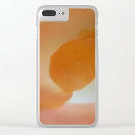 The Essence of Life Clear iPhone Case