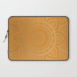 Gold Mandala 12 Laptop Sleeve