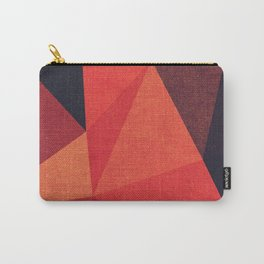 Abstract geometric patter.Triangle background Carry-All Pouch