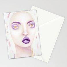 purple rain Stationery Cards
