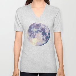 Blue moon Unisex V-Neck