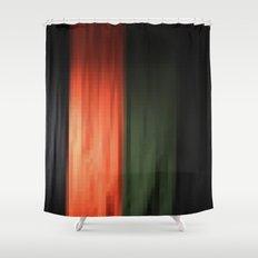 Janese kabuki drop curtain ~doncho~ Shower Curtain